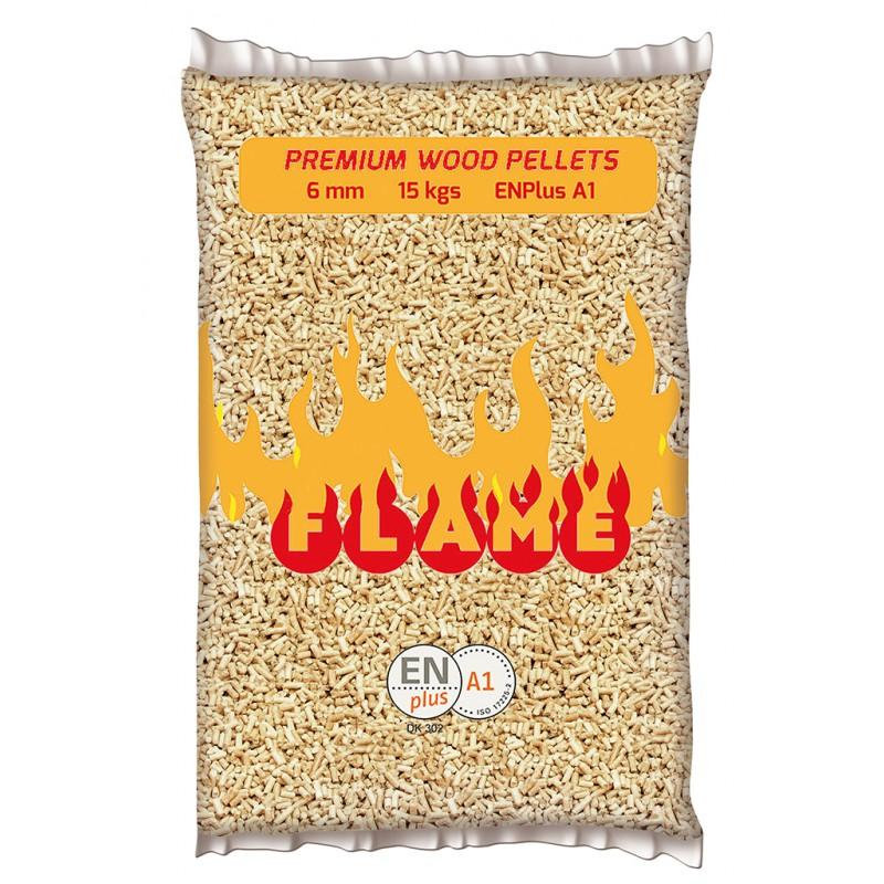 Premium Wood Pellets FLAME