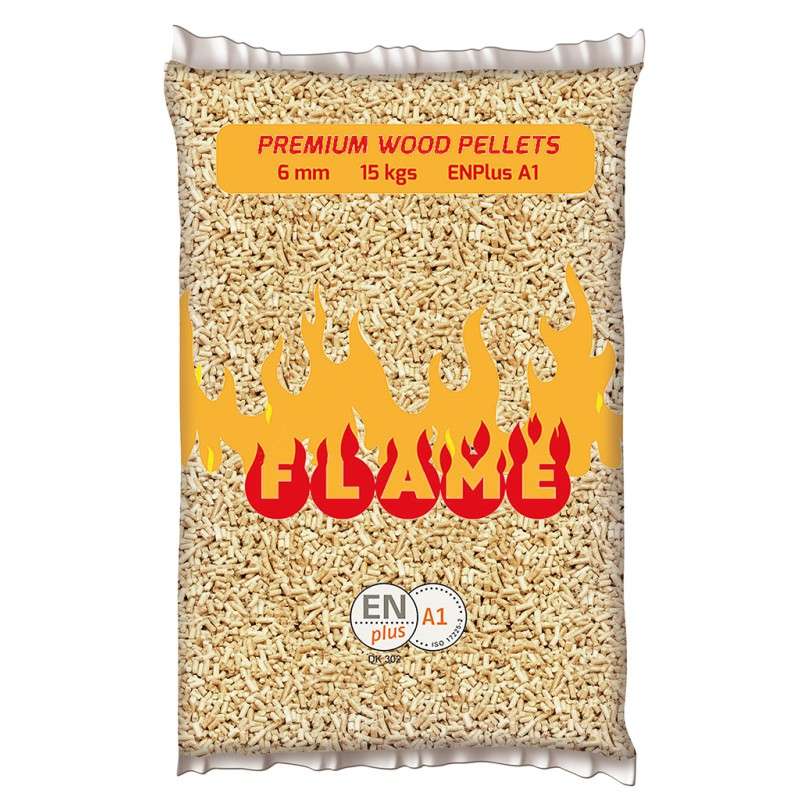 Premium Wood Pellets FLAME
